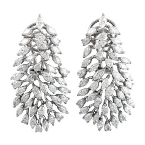 8.6 Carat Diamond 18 Karat Gold Florence Earrings