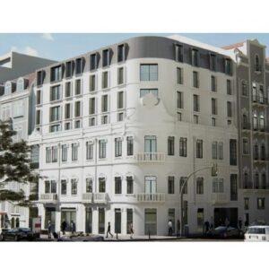 1-3 bedrooms apt in Almirante Building, Lisbon, Portugal