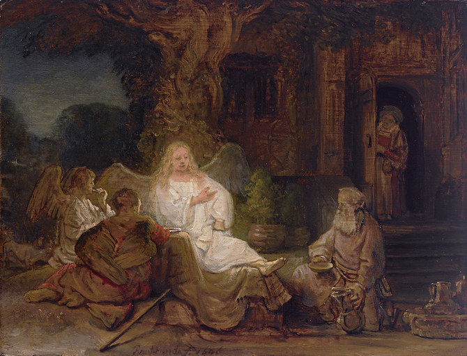 Sotheby's Dubai displays rare works by Rembrandt